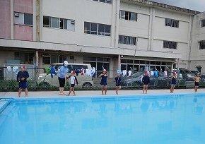 6月16日(水) プール開き